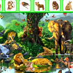 Safari Animals Hidden